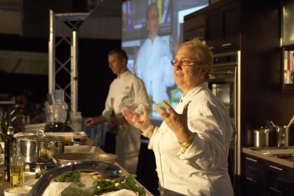 Lidia Bastianich - Kohler Food & Wine Experience 2012 | ASpicyPerspective.com #Festivals #WineTasting #Kohler