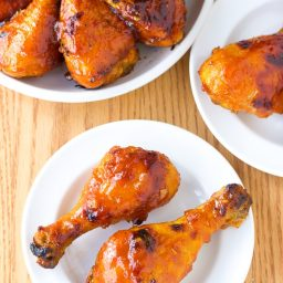 Sweet and Spicy Baked Chicken Drumsticks Recipe