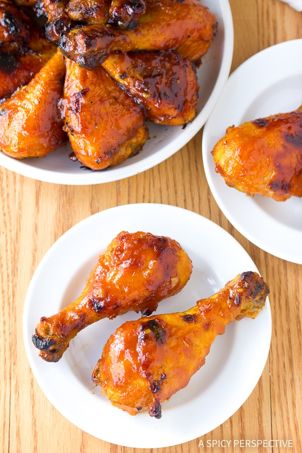Baked chicken thighs and drumsticks recipes