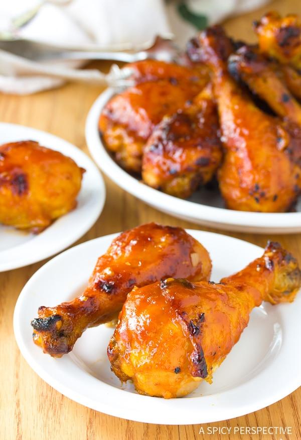 Baked Chicken Drumsticks #ASpicyPerspective