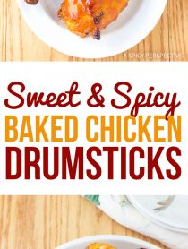 Addictive Sweet and Spicy Baked Chicken Drumsticks Recipe
