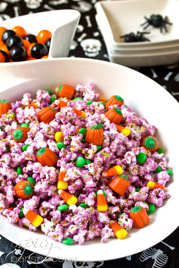 Fun Halloween Popcorn Mix