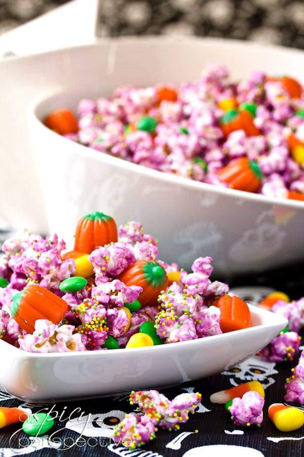 ... bags, this Halloween Popcorn Mix also makes great edible gifts