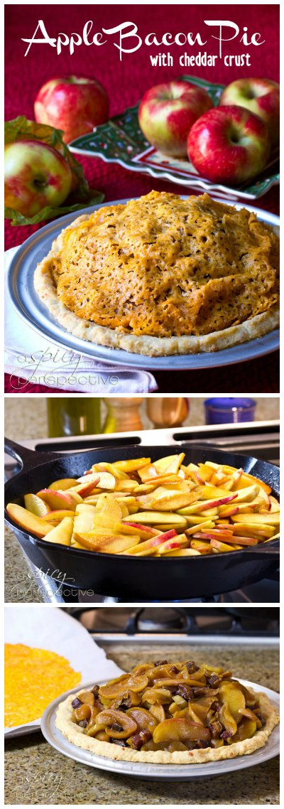 Sweet and Savory Bacon Apple Pie