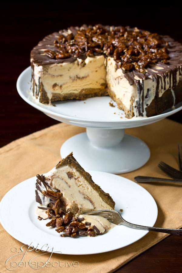 EasyTurtle Pumpkin Ice Cream Cake: An Impressive #Thanksgiving Dessert ...