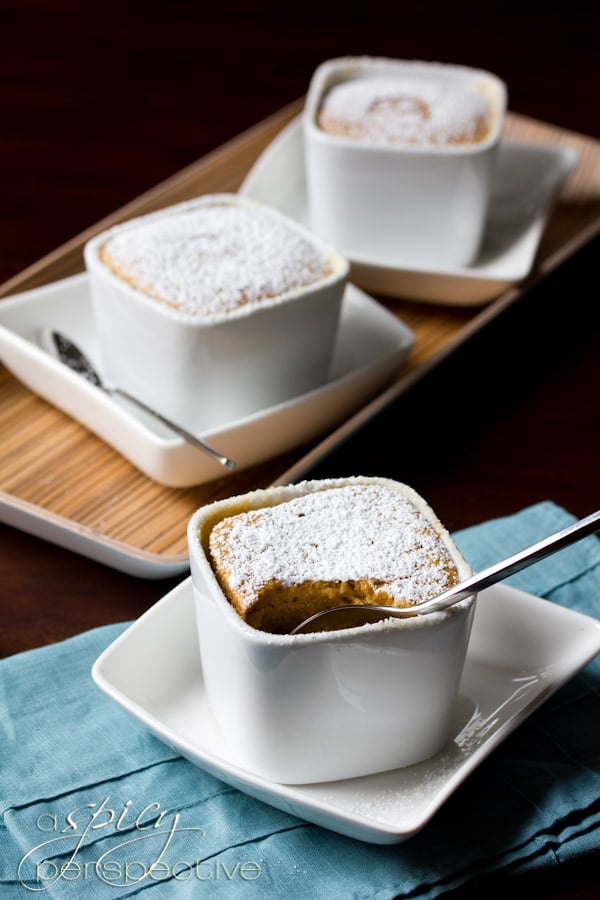 Real-Deal Sweet Potato Souffles | ASpicyPerspective.com #thanksgiving #recipes #sweetpotato
