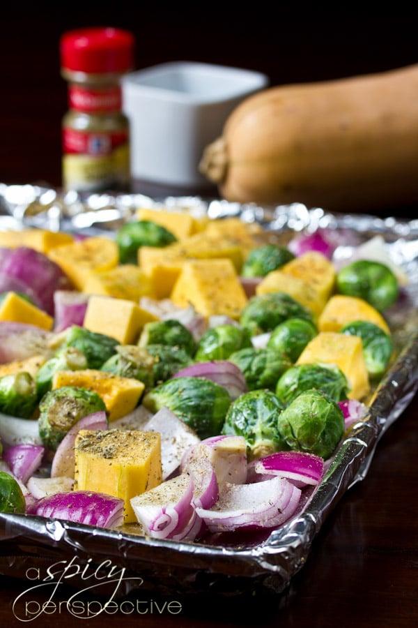 Roast Vegetables in the Oven | ASpicyPerspective.com #glutenfree #vegan #recipes