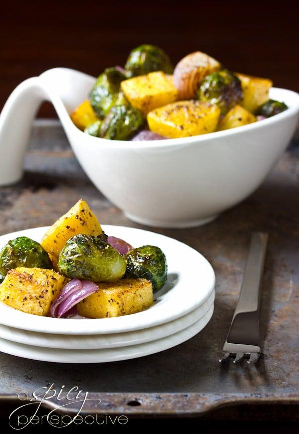 Oven Roasted Vegetables | ASpicyPerspective.com #vegan #glutenfree #recipes