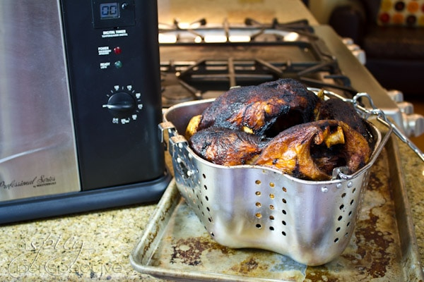 How to Deep Fry a Turkey | ASpicyPerspective.com #thanksgiving #turkey