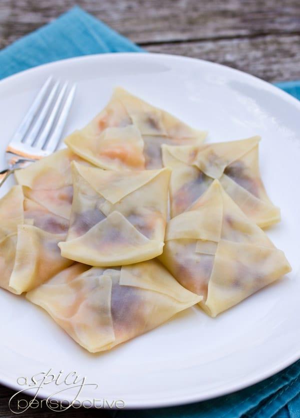 Thanksgiving Leftovers Ravioli Recipe
