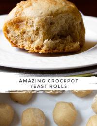 Crockpot Apple Butter Yeast Rolls Recipe #ASpicyPerspective #crockpot #slowcooker #thanksgiving #recipes #rolls #bread