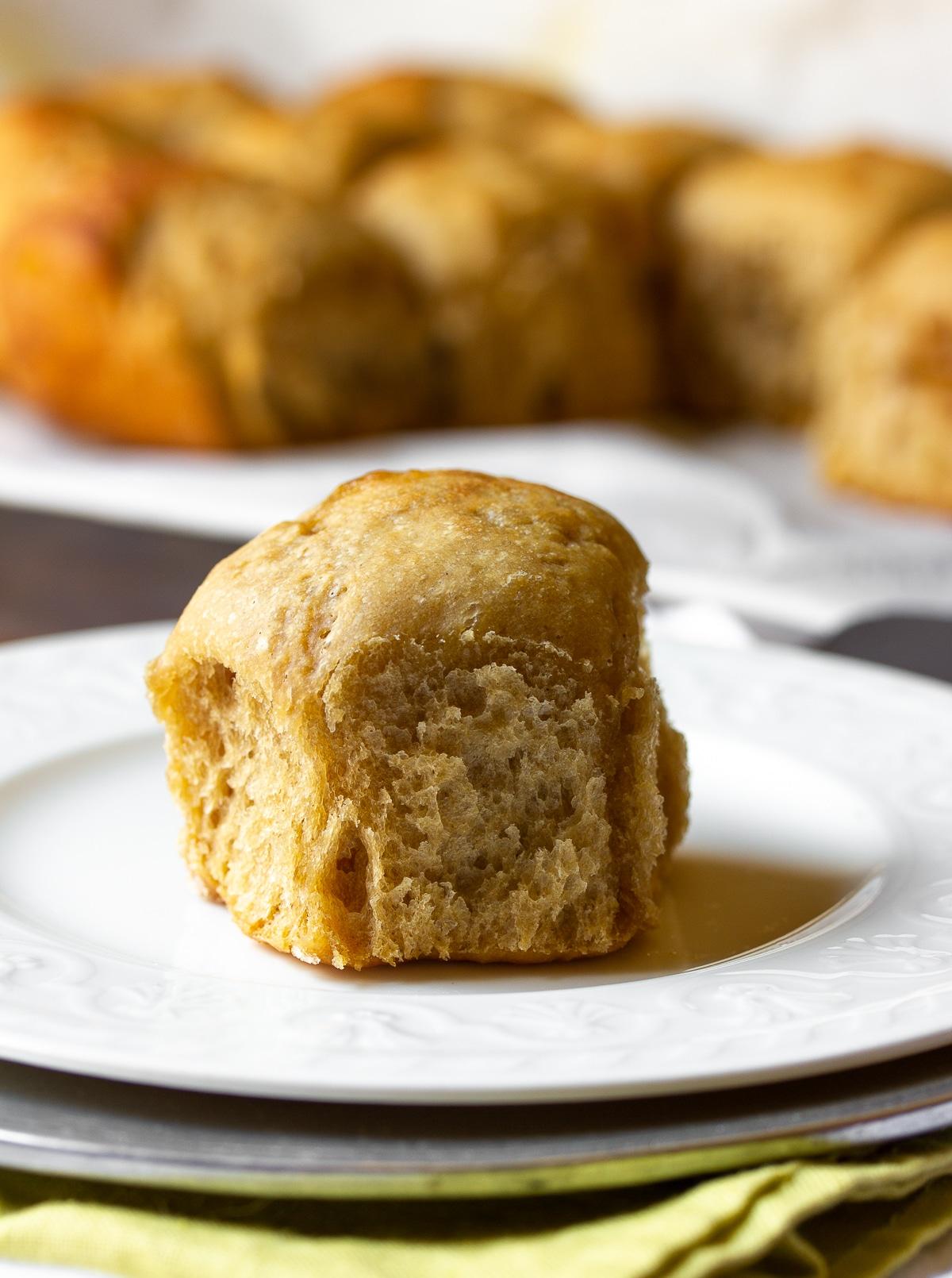 Slow Cooker Yeast Rolls Recipe #ASpicyPerspective #crockpot #slowcooker #thanksgiving #recipes #rolls #bread