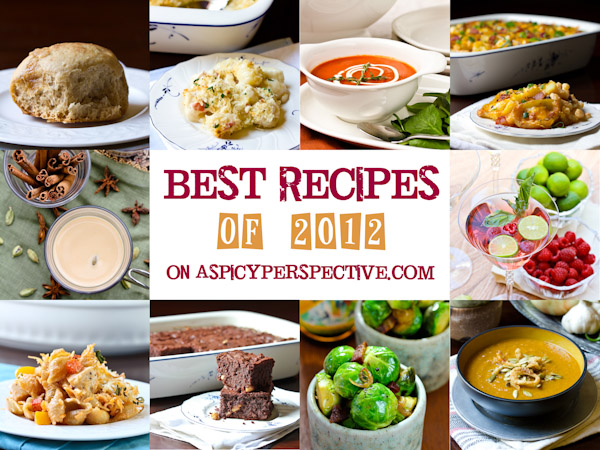 Best Recipes of 2012 on ASpicyPerspective.com