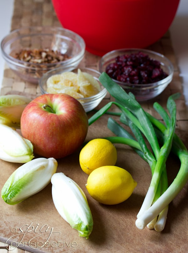How to make Waldorf Salad | ASpicyPerspective.com #recipe #healthy #holidays