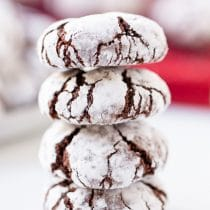 Mexican Mocha Crinkle Cookies Recipe #ASpicyPerspective #holidays #Christmas