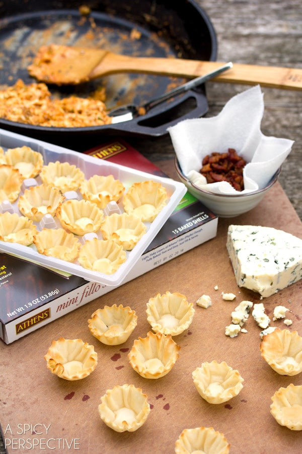 Making Buffalo Chicken Bites | A Spicy Perspective #superbowl #gameday #partysnacks