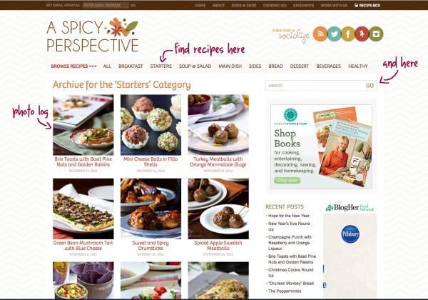 Search recipes