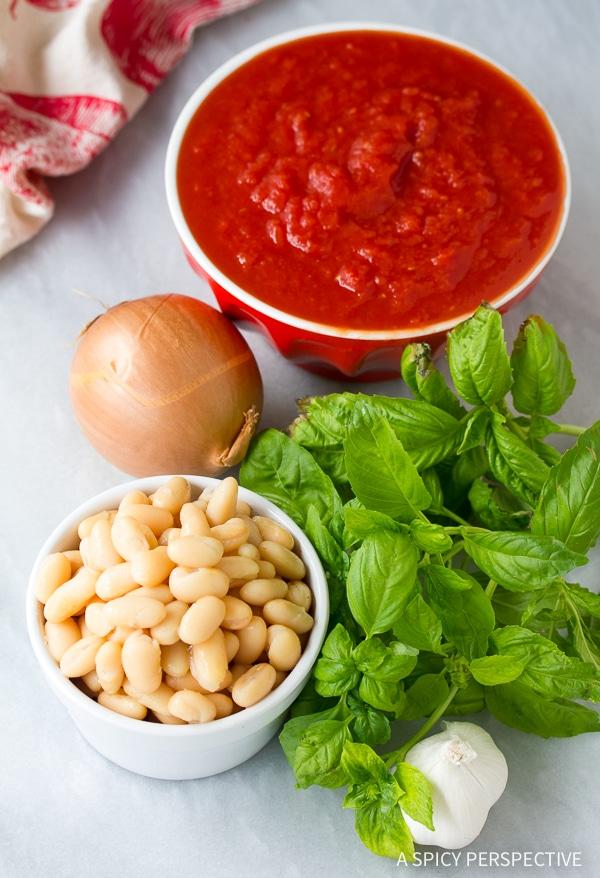 Making Healthy Tomato Basil Bisque Recipe