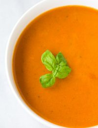 Healthy Tomato Basil Bisque Recipe