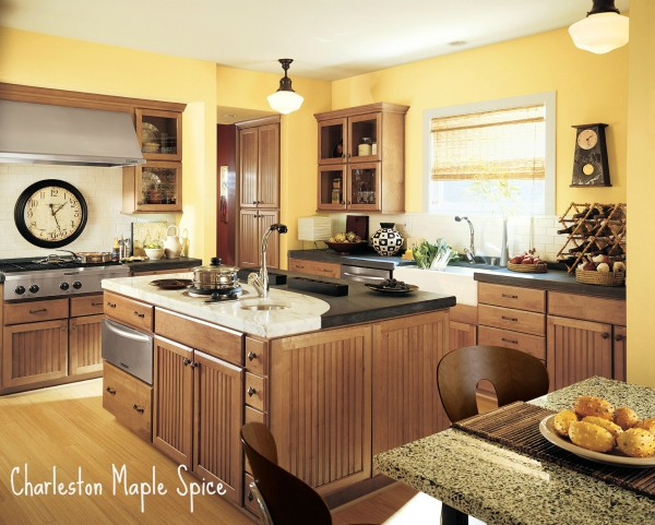 Beau Shenandoah Cabinetry   Charleston Maple Spice K_LW_Z5S_H_12R