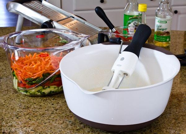 Veggie Pancake Batter