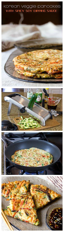 Crispy Veggie Korean Pancake Recipe: Pajeon