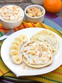 Toasted Coconut Breakfast Spread on ASpicyPerspective.com #breakfast
