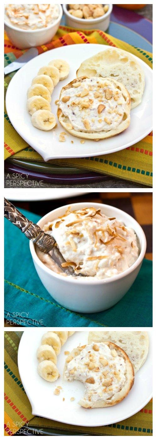 4-Ingredient Toasted Coconut Breakfast Spread