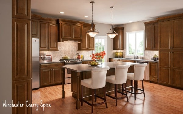 Exceptional Shenandoah Cabinetry   Winchester Cherry Spice K_LW_K6SDF_NoLifestyle_12