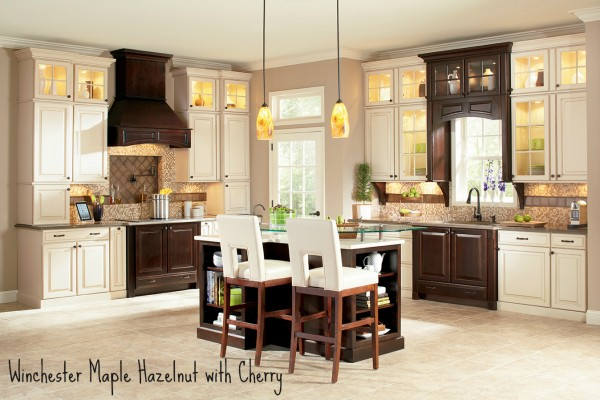 Superieur Shenandoah Cabinetry   Winchester Maple Hazelnut With Cherry Java  K_LW_D5ZDF_K6KDF_HORZA_12_GEN