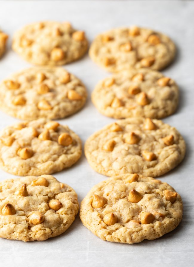 butterscotch cookies with oatmeal