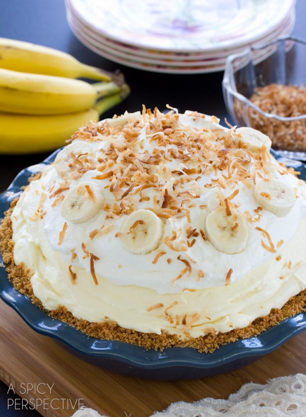 Banana Cream Pie Recipe - A Spicy Perspective