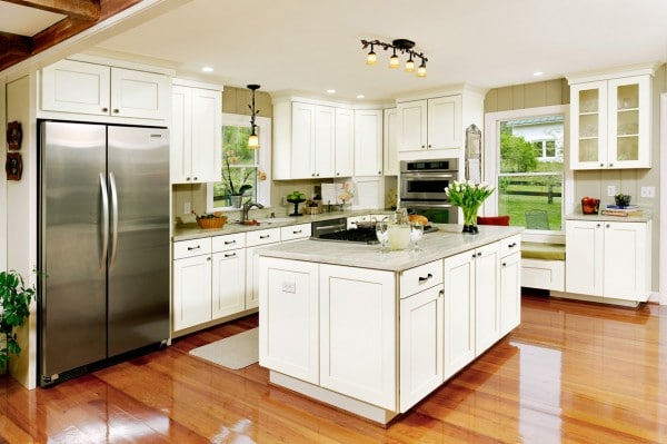 Shenandoah Cabinetry Mission Maple Linen - My Shenandoah Cabinetry Experience - A Spicy Perspective