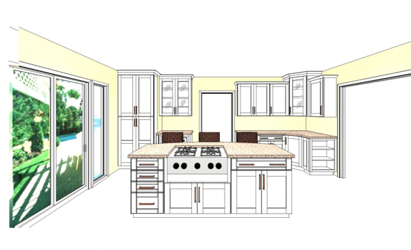 Shenandoah Cabinetry Kitchen Design 3