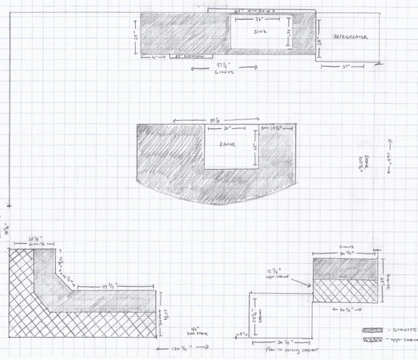 Original Kitchen Layout