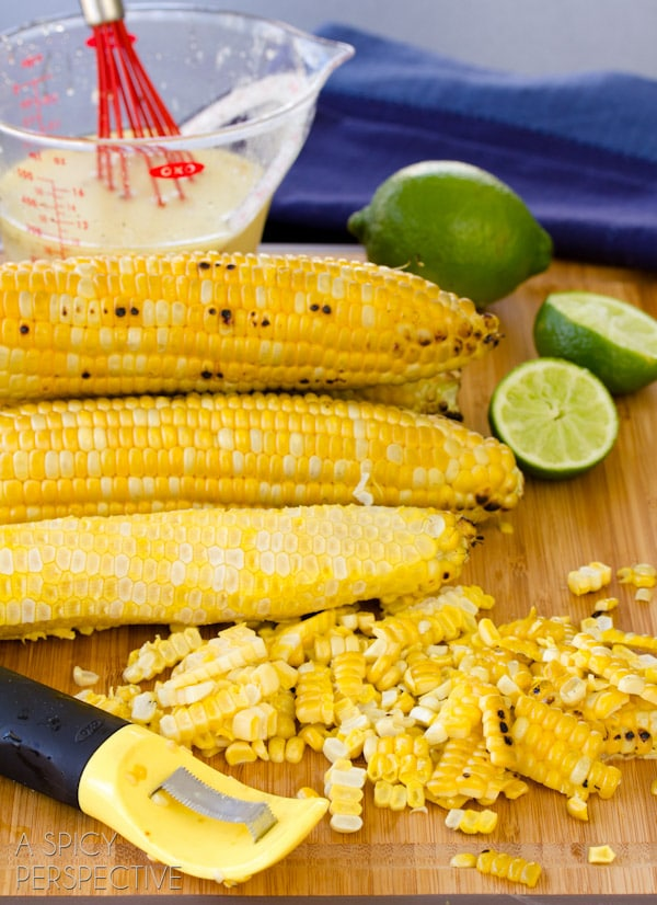 Grilled Corn on the Cob #Corn
