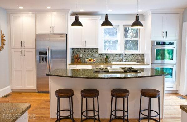 ASpicyPerspective.com Kitchen Makeover Reveal! #diy #homeimprovement #remodel