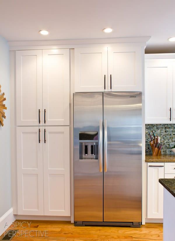 Shenandoah Cabinetry on ASpicyPerspective.com #diy #remodel #kitchen