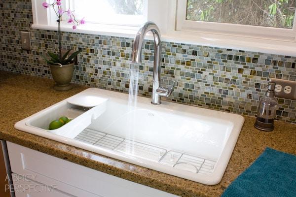 Kohler Sensate Faucet and Riverby Sink