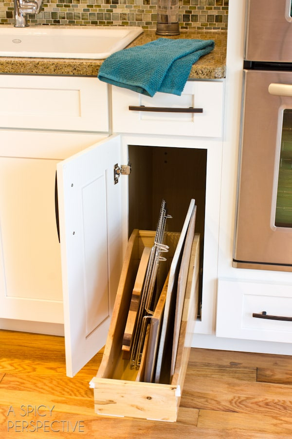 Shenandoah Cabinetry on ASpicyPerspective.com #diy #remodel #kitchen