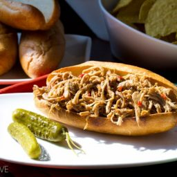Sweet Chili Pulled Pork from