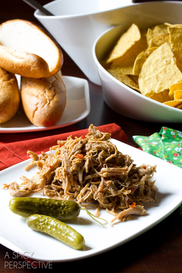 "Sweet Chili Pulled Pork from ""The Recipe Girl Cookbook"" #bbq #pork #giveaway"