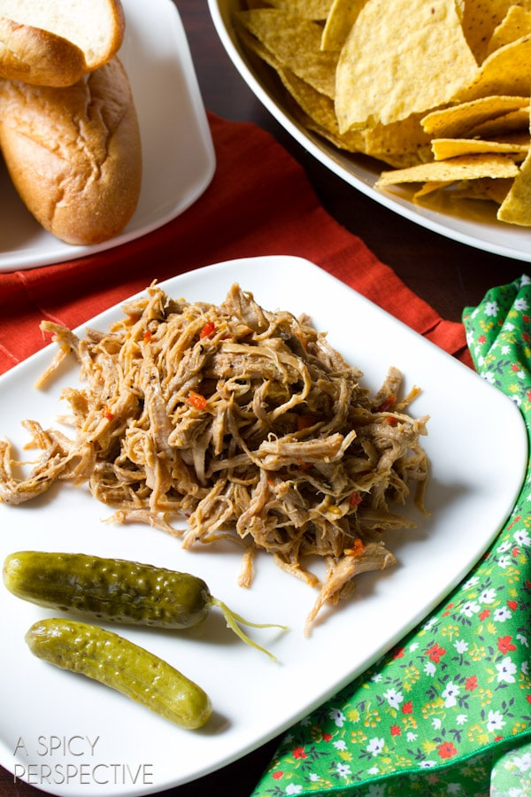 """Sweet Chili Pulled Pork Tenderloin from """"The Recipe Girl Cookbook"""" #bbq #pork #giveaway"""