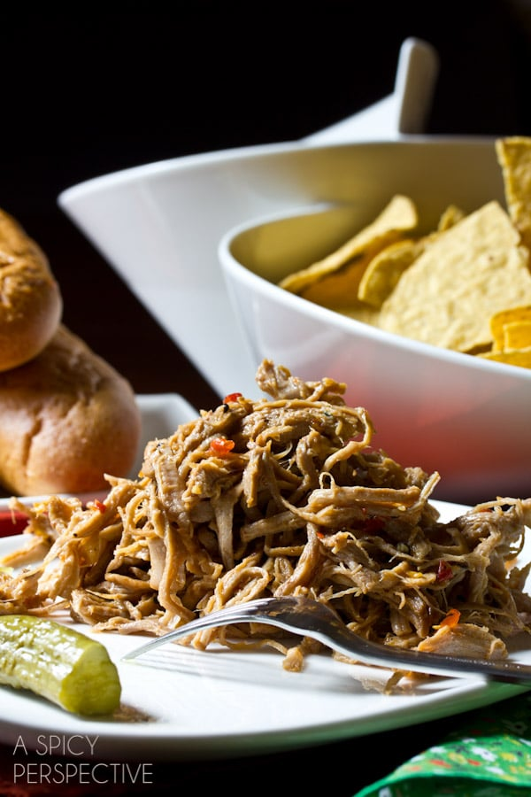 "Easy Sweet Chili Pulled Pork from ""The Recipe Girl Cookbook"" #bbq #pork #giveaway"