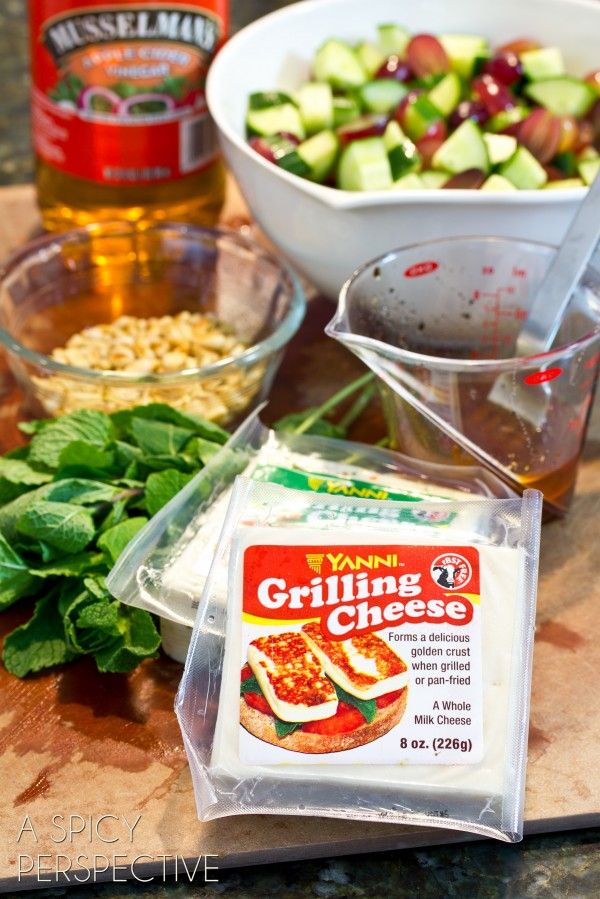 Real California Cheese - Yanni Grilling Cheese