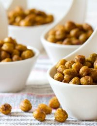"""""""Indian"""" Roasted Chickpeas 