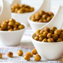"""Indian"" Roasted Chickpeas 