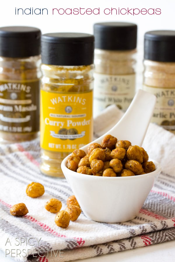 Indian Roasted Chickpeas A Spicy Perspective