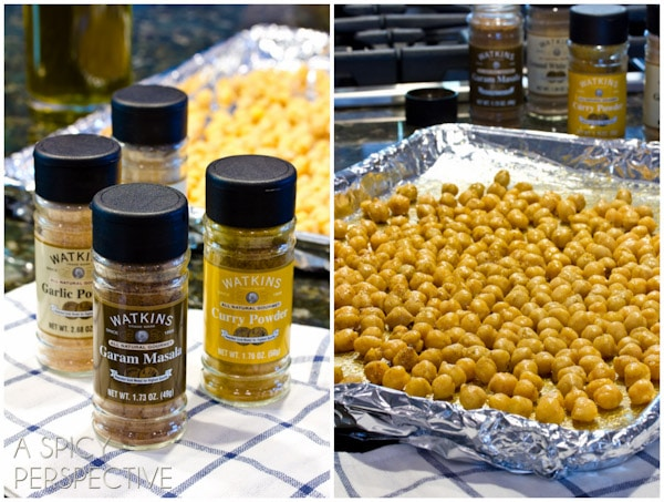 How to make Roasted Chickpeas
