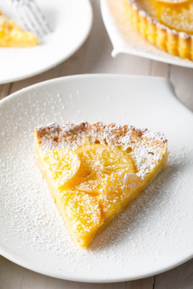 BEST Lemon Tart Recipe Ever #ASpicyPerspective #lemon #tart #pie #spring #summer #holiday #easter #mothersday